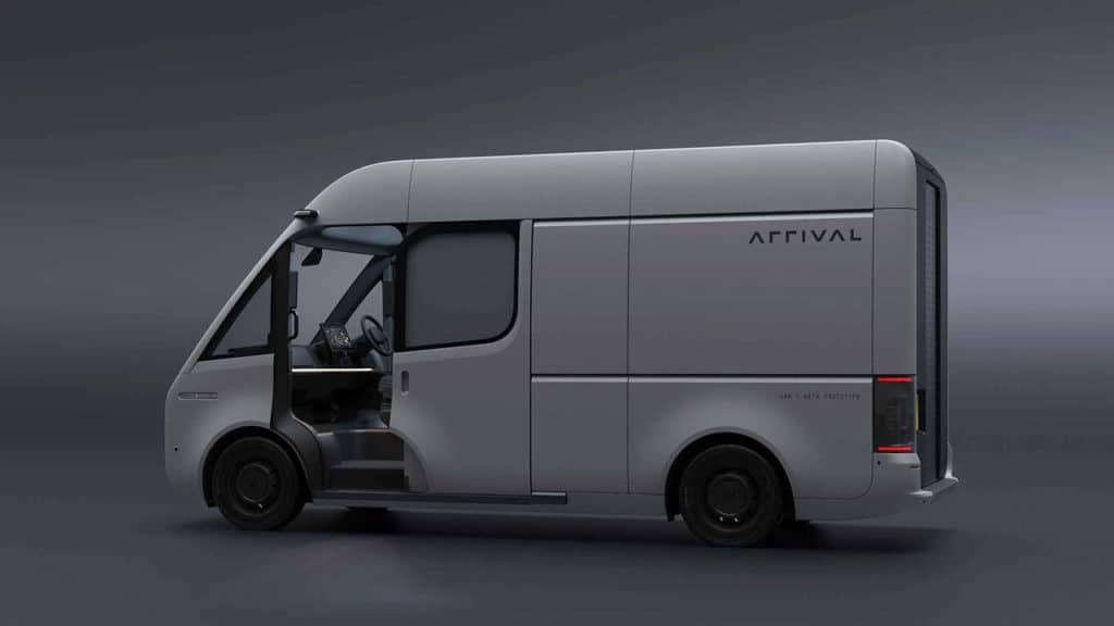 After real testing, Arrival made changes to the design of the electric van.
