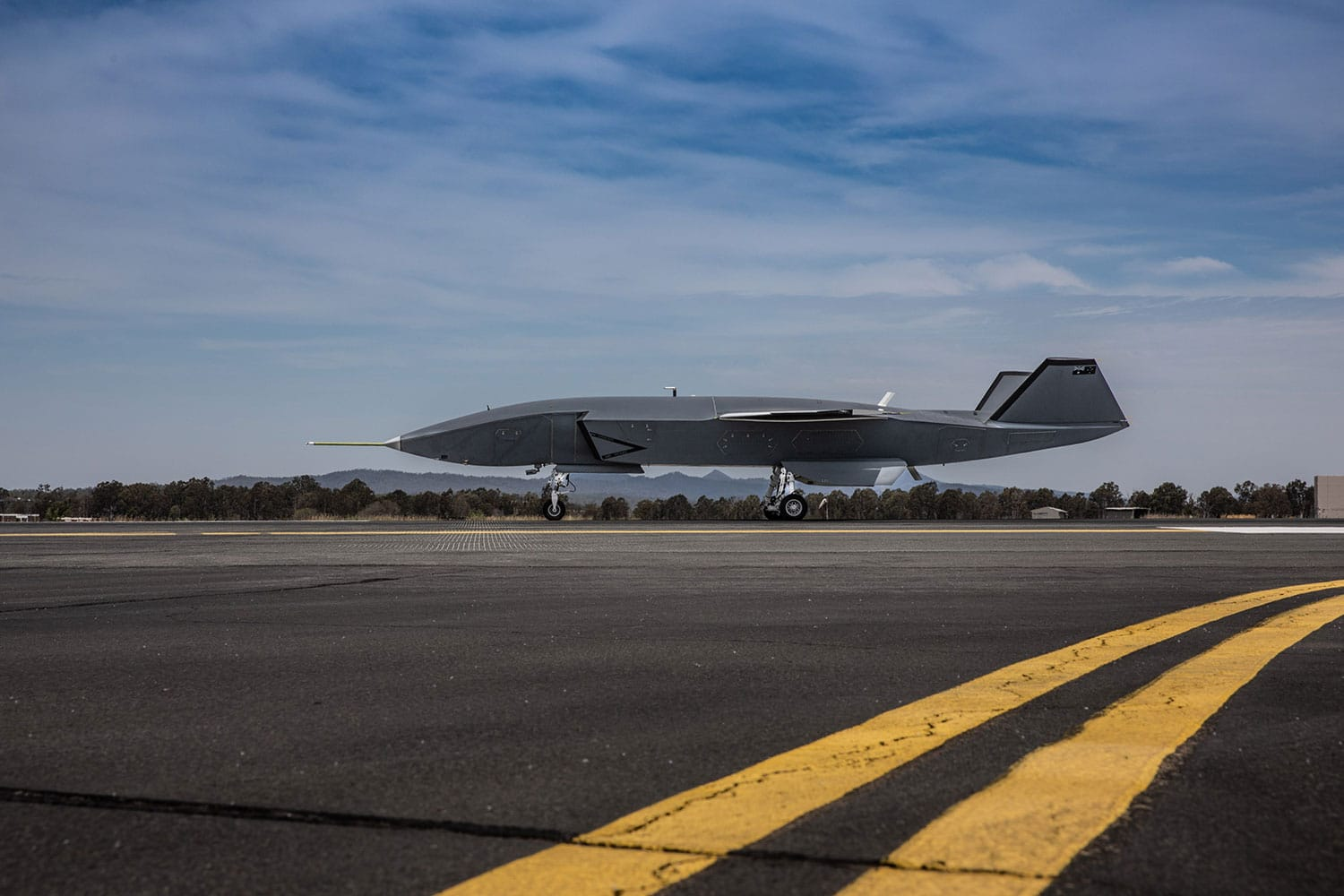 Boeing Loyal Wingman aircraft completes its first low-speed taxi test