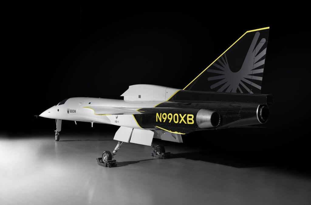 XB-1 is slated to fly for the first time in 2021