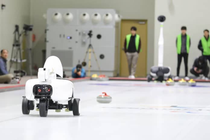 Curly, the curling robot that can beat professional players