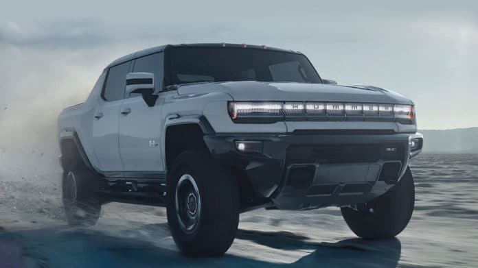 GMC unveils 1000 hp Hummer EV as the supertruck of the future.