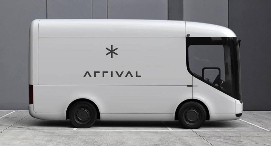 Alpha prototype of Arrival's electric van.