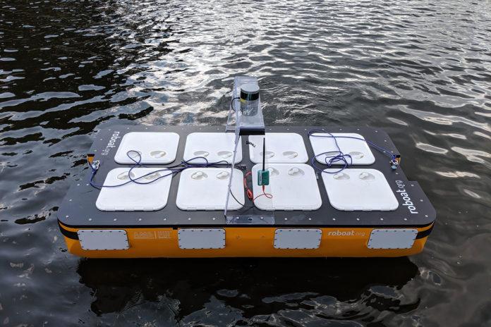Roboat, the autonomous robotic boat.