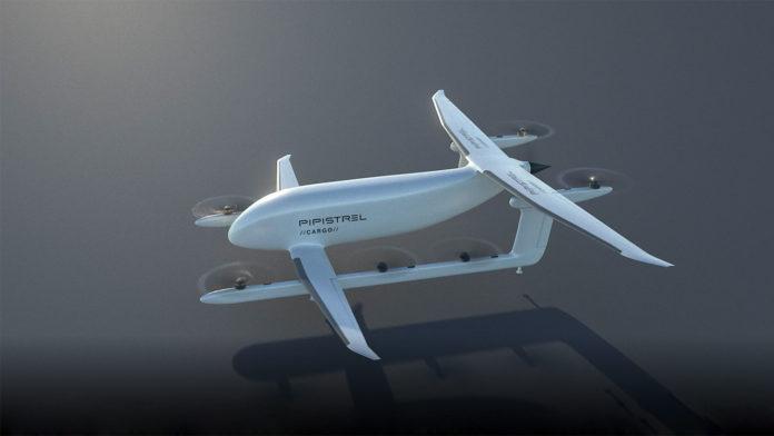 Nuuva V300, Hybrid-Electric VTOL Unmanned Cargo Aircraft.