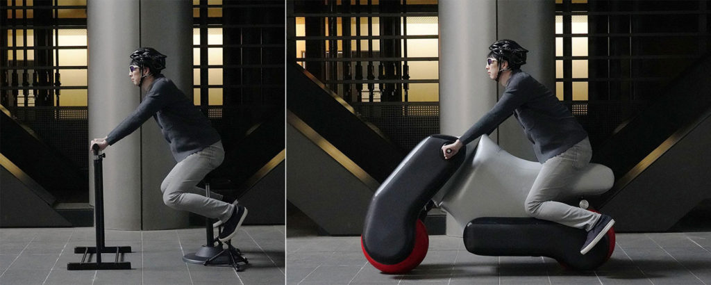 It allows users to design personal mobility tailored to their body and riding style.