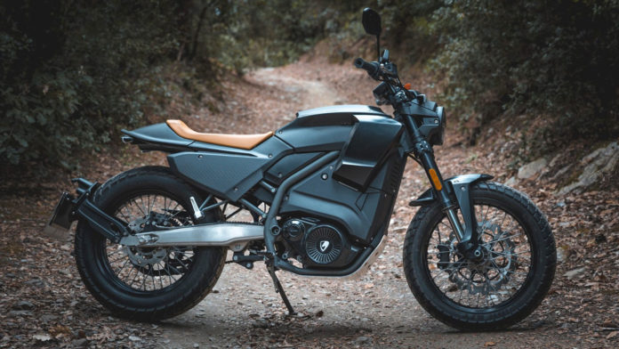 Pursang E-Track, an electric motorcycle with up to 140 km of autonomy.
