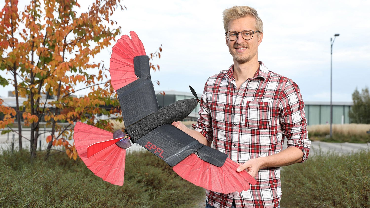 Engineers develop a raptor-inspired drone that can fly for a long time