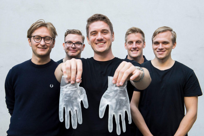 New ReGlove system produces a recyclable single-use protective glove.
