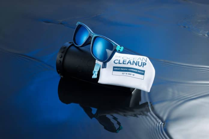 Ocean Cleanup revealed its first sunglasses made from recovered plastic.