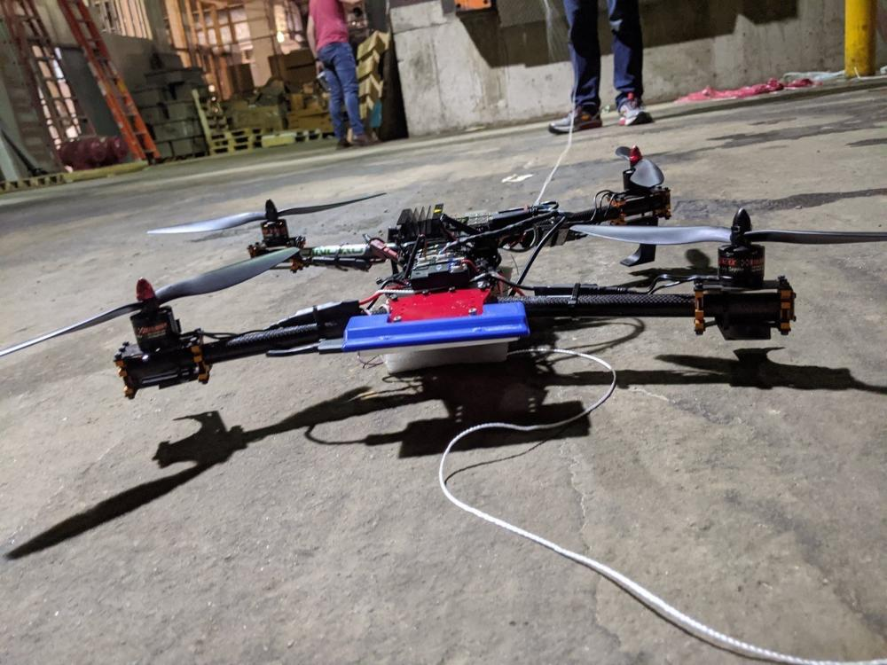 Army readies charging port for autonomous drone swarms.
