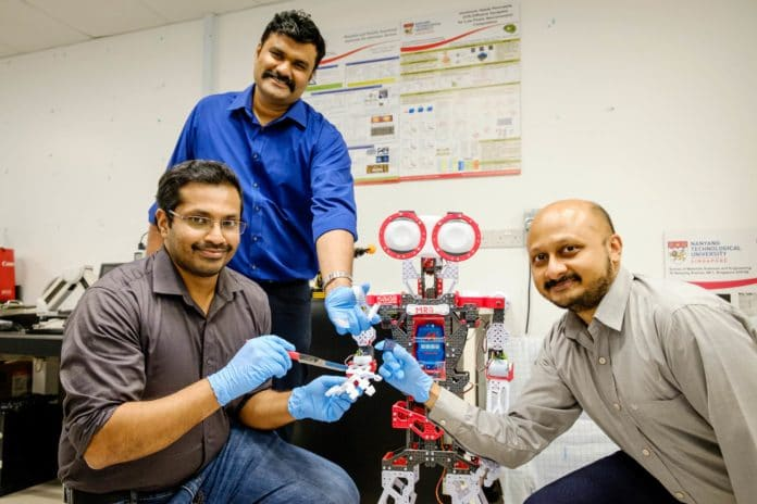 NTU Singapore scientists develop 'mini-brains' to help robots recognise pain and to self-repair.
