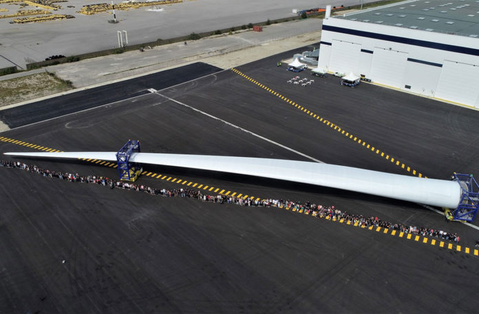 ZEBRA project aims to develop first 100% recyclable wind turbine blades.