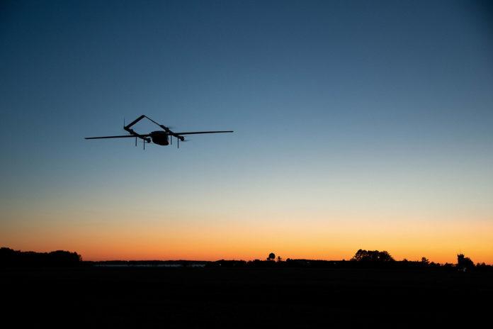 U.S. Navy studies using drones for long-range ship cargo resupply.