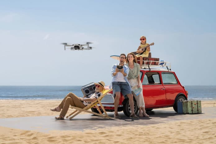 Meet DJI Mini 2, the ultra-light, feature-packed, easy-to-fly drone.