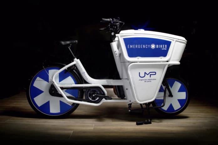 Emergency Bikes, an eBike designed to help emergency responders move faster.