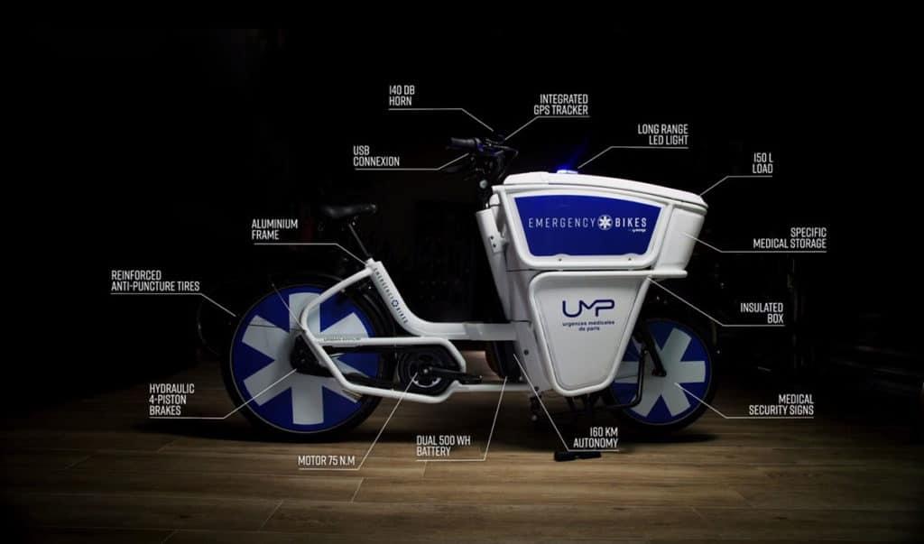 Emergency Bike Features.