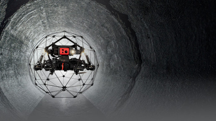 Elios 2 indoor inspection drone tested at Chernobyl Nuclear Power Plant.