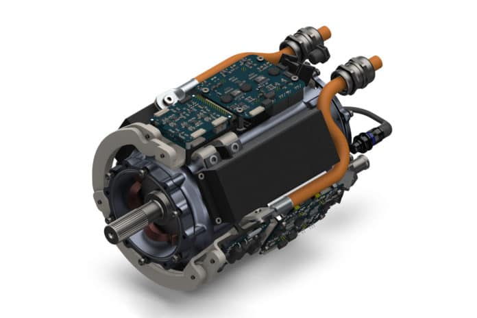 The HPDM-250 is an ultra-high power density integrated motor drive for electric aircraft.