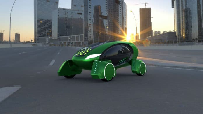 Kar-go, an autonomous delivery robot, to deliver medicines in London.