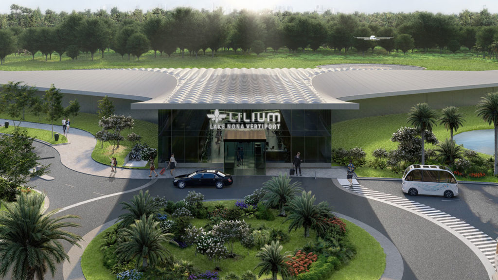 Lilium partners with Tavistock development and City of Orlando to establish first region in the US.