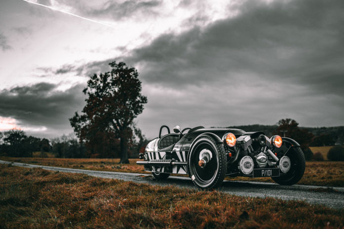 Morgan presents new limited-edition 3 Wheeler P101 as run-out model.