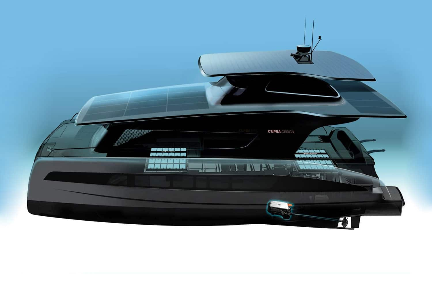 Silent-Yachts is working on a new solar-powered electric catamaran