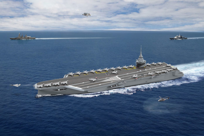 France is preparing a new nuclear-powered aircraft carrier.