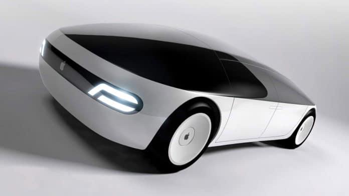 Apple's self-driving car concept.