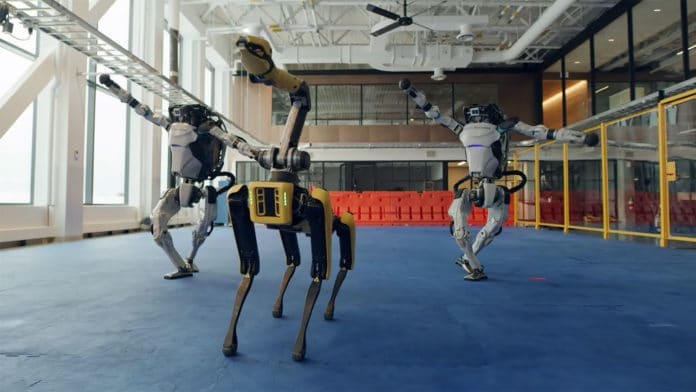 Entire Boston Dynamics robot family shows off really impressive dance moves