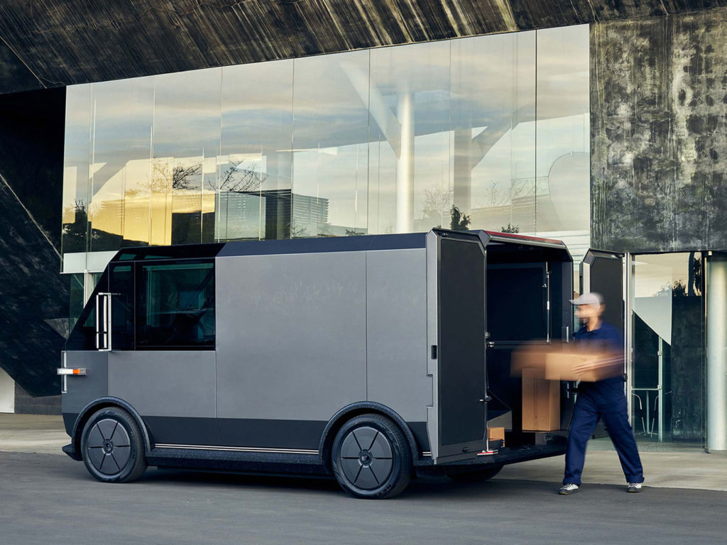 It is a transport vehicle for that last bit delivery or for small companies in smaller towns.