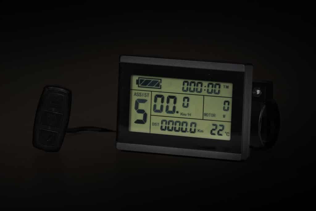 ENVO Electric SnowBike Kit LCD Assist.
