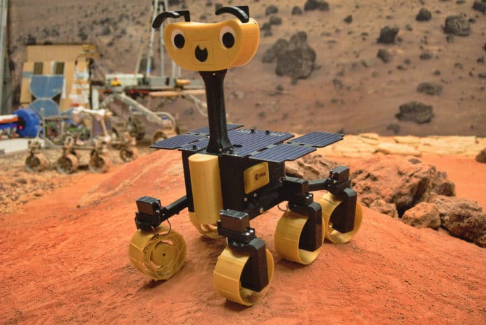ESA presents ExoMy rover that anyone can 3D print, assemble and program.