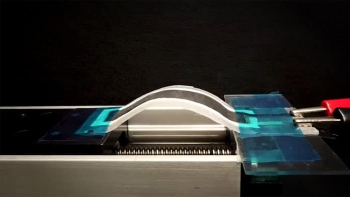 New flexible battery with up to 10 time more energy than state of the art.