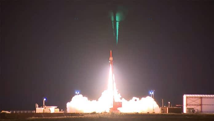 HIFiRE 4 Hypersonic test flight in Woomera, South Australia
