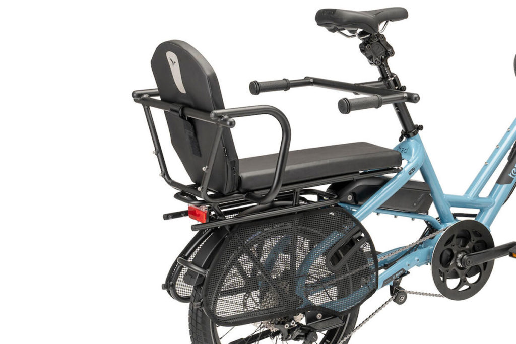 HSD equipped with the optional Captain's Chair and other passenger-carrying accessories