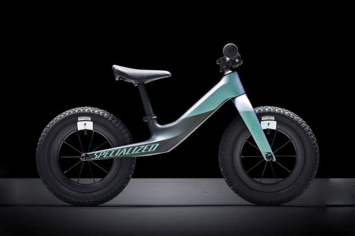 Specialized unveiled new ultralight kid's bike with no pedals.
