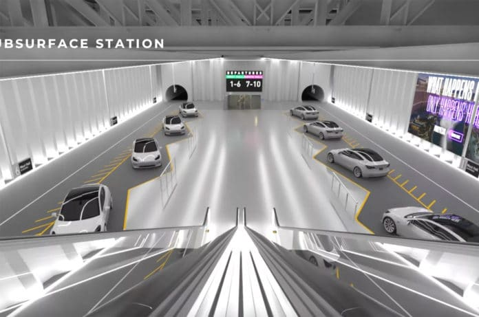 The Boring Company plans to expand its Loop transport system in Las Vegas