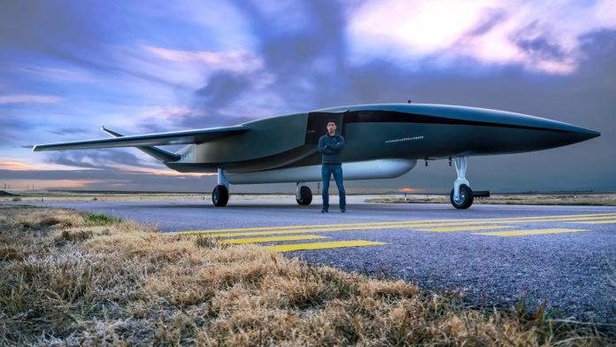 Aevum Ravn X Autonomous Launch Vehicle, the world's largest Unmanned Aircraft System (UAS).