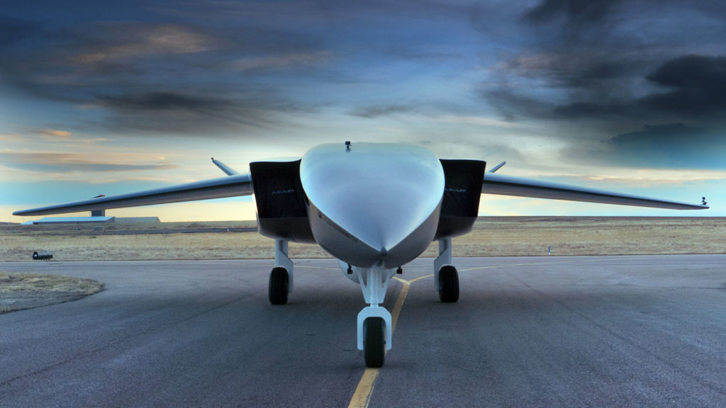 This rocket-drone plane can send small satellites into orbit from a normal runway.