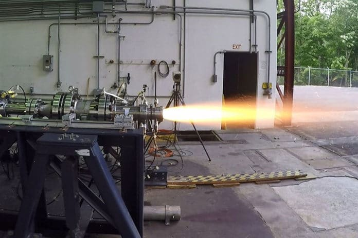 New ramjet engine tested to extend munition range over 100 km.