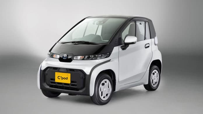 Toyota unveils C+pod, an ultra-compact BEV with up to 150 km range
