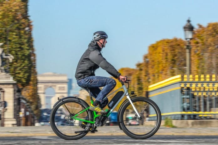 Valeo Smart e-Bike System combines an ebike motor and an automatic gearbox.