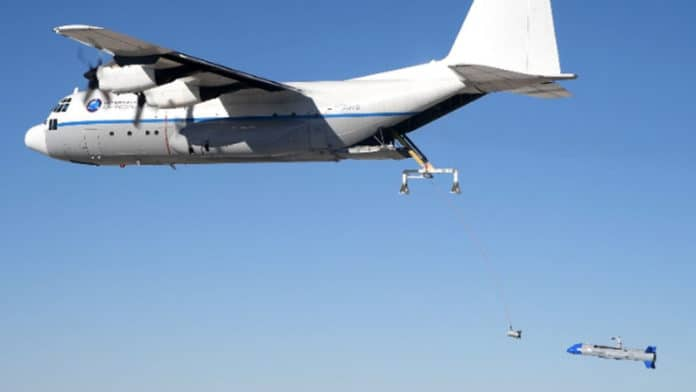 DARPA's Gremlin drones were just inches from successful airborne retrieval.