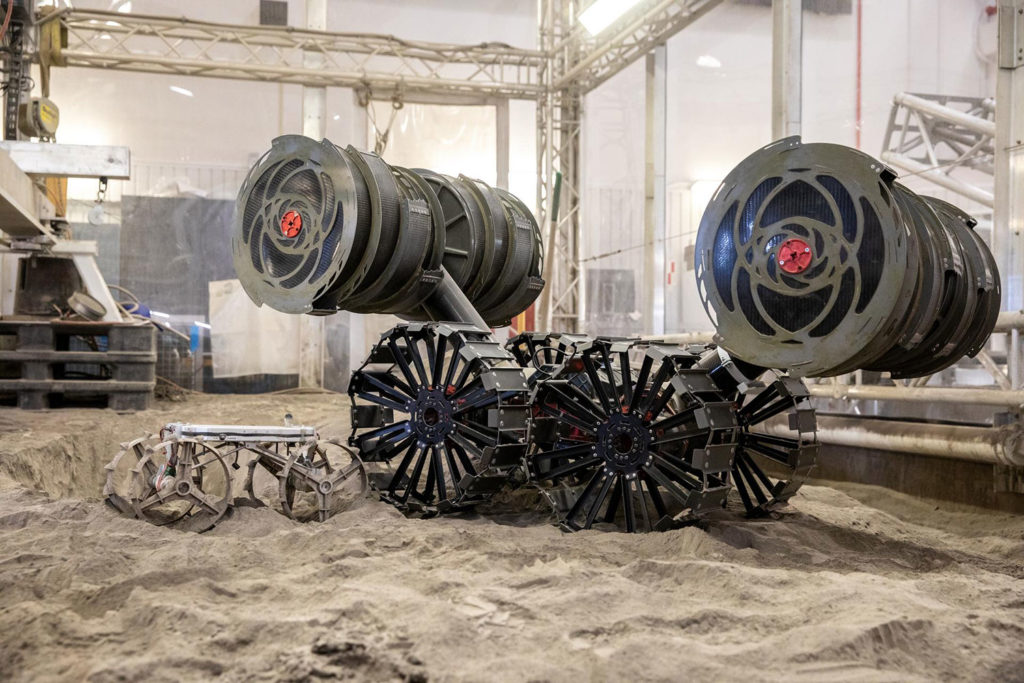 Astrobotic, NASA successfully test the maneuverability of small robotic CubeRover