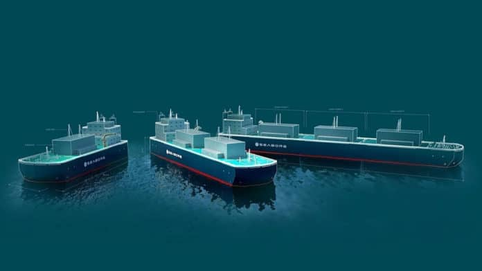 Seaborg plans to deploy the first floating nuclear power barges by 2025.
