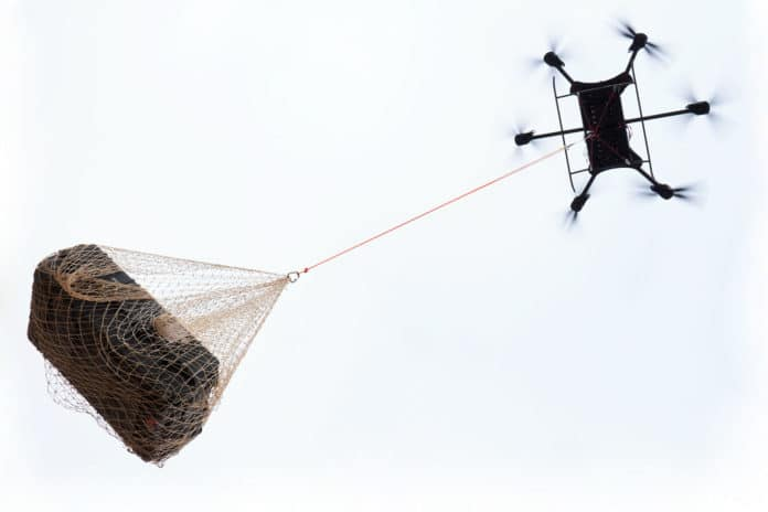 New xFold Dragon cargo drone can lift almost half a ton.