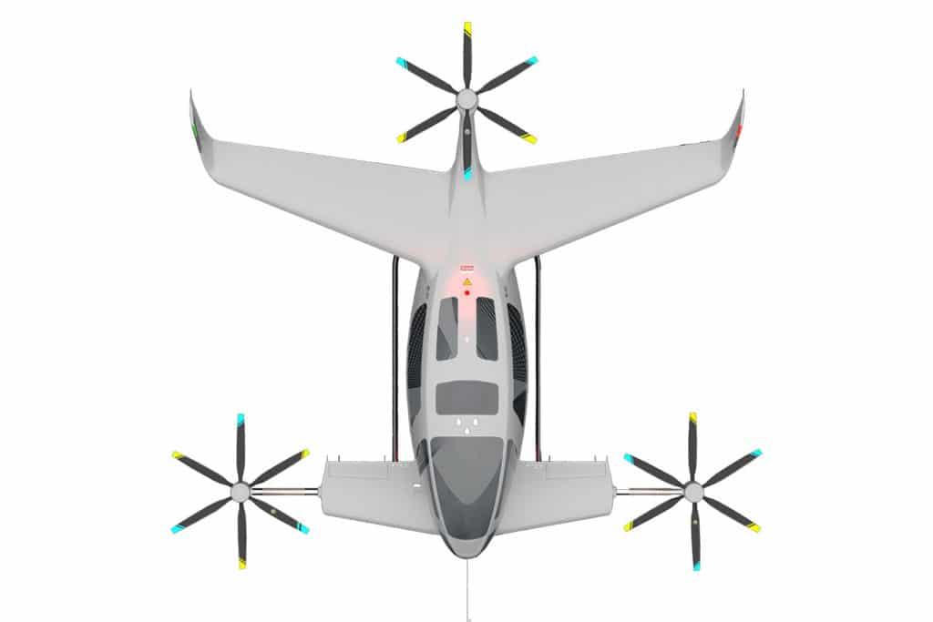 Autonomous Flight presents Y6S Plus, a six-seater electric VTOL aircraft.