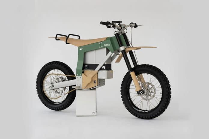Cake Kalk AP, an electric off-road bike for anti-poaching purposes.