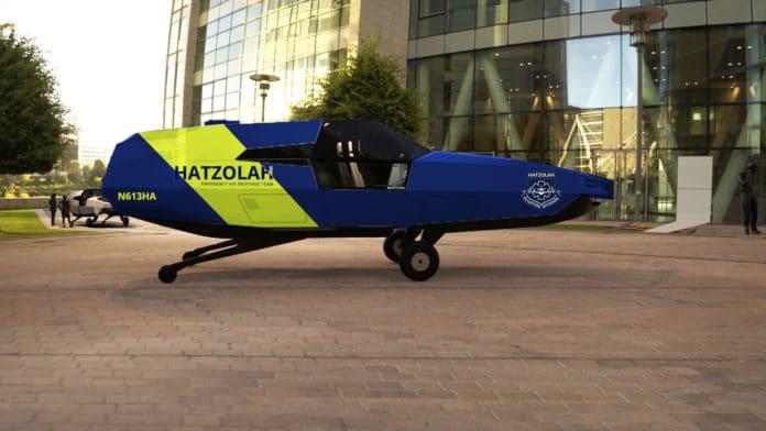Urban Aeronautics to provide four EMS CityHawk VTOL aircraft to Hatzolah Air.