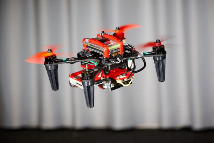 Onboard cameras can be used to keep drones flying when a motor fails